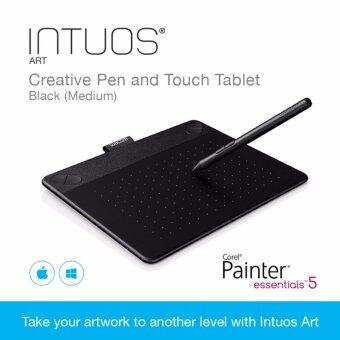 Wacom Intuos Art Creative Pen and Touch Tablet Black (Medium)