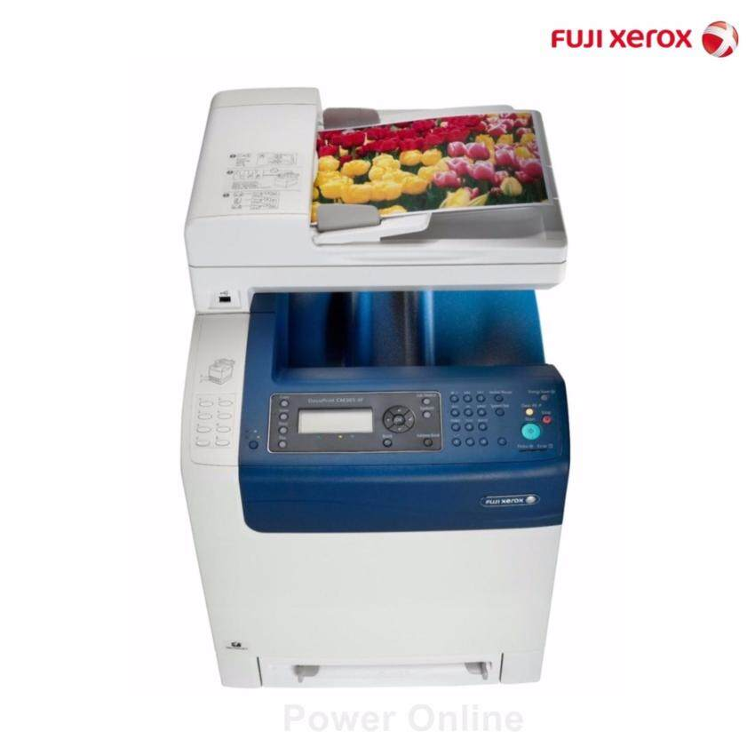 Warranty 3 years Fuji Xerox DocuPrint MultiFunction Color Laser รุ่น CM305 df (Print/Scan/Copy/Fax.) (White)