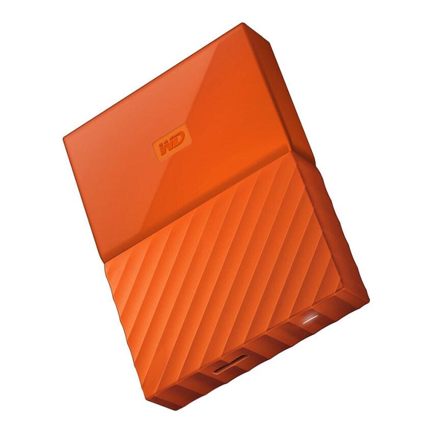 WD My Passport  New Model 1TB (Orange) (WDBYNN0010BOR-WESN) ...
