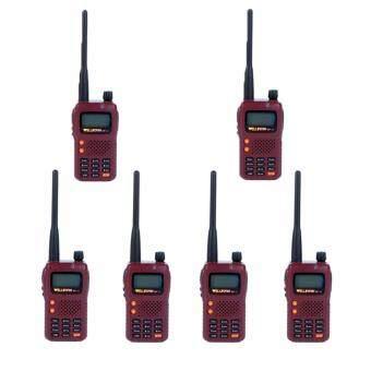 WELLFORM วิทยุสื่อสาร WF13 5 วัตต์ 6 ตัว (ราคาส่ง) จดใบอนุญาตได้
