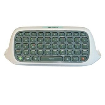 White Keyboard Keypad Chatpad Live for Microsoft Xbox 360Controller Video Game - intl