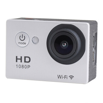 Wifi Action Digital Camera 12Mp Full Hd 1080P 30Fps 2.0InchLcdDiving 30M Waterproof Sport Dv - intl