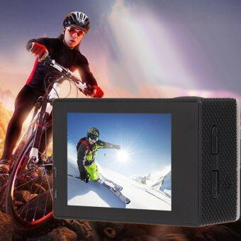 Wifi SJ4000 1080P 12MP Car Cam Sports Camera DV ActionWaterproofSilver - intl