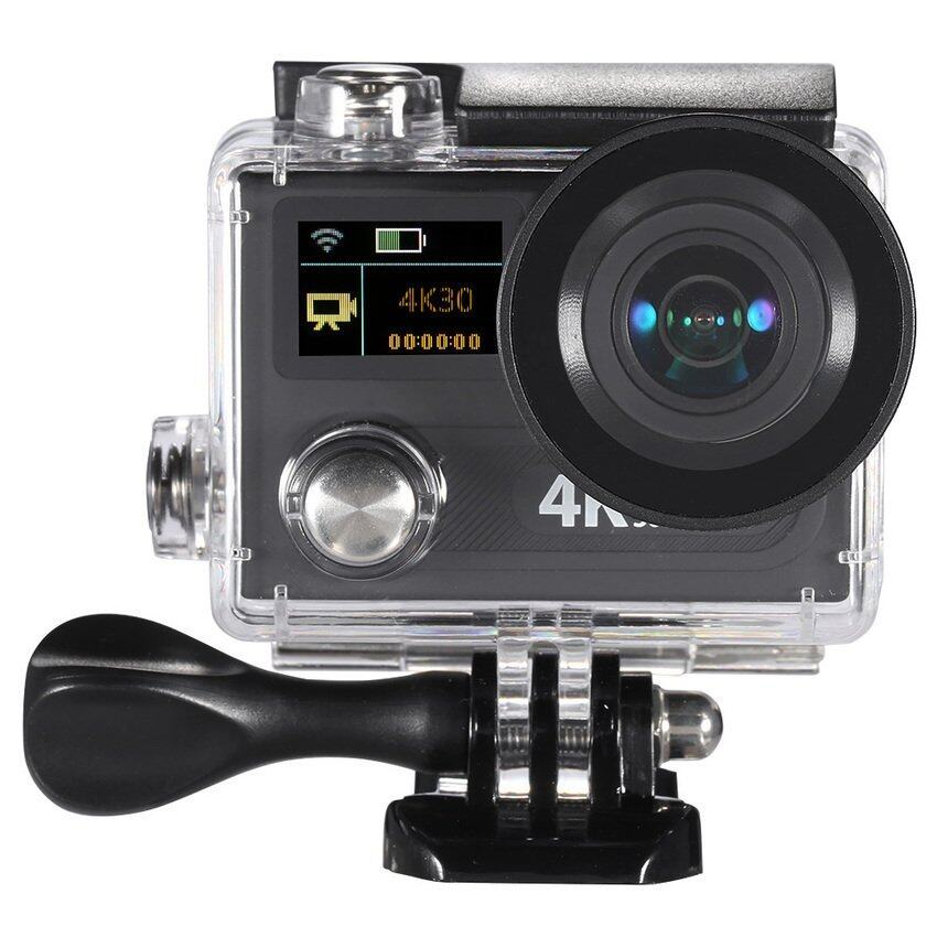Wifi Sports Action Camera 2�x9D Dual LCD Screen 360 VR Play 4K30fps1080P 60fps 12MP Ultr ...