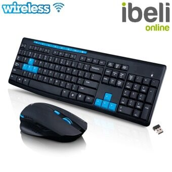 Wireless 2.4GHz Wireless Keyboard With Optical Mouse Combos Set