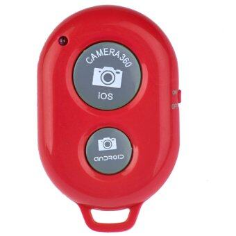 Wireless Bluetooth Camera Self-timer Remote Shutter Controller for iOS Android iPhone,red - Intl