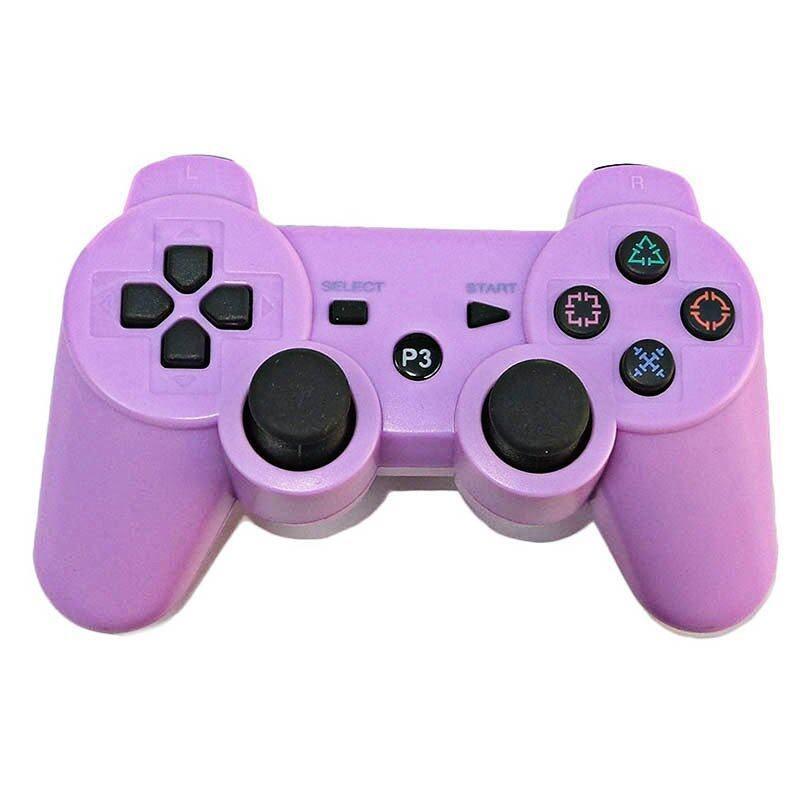Wireless Bluetooth Remote Controller Joystick For PS3 (Purple) - INTL