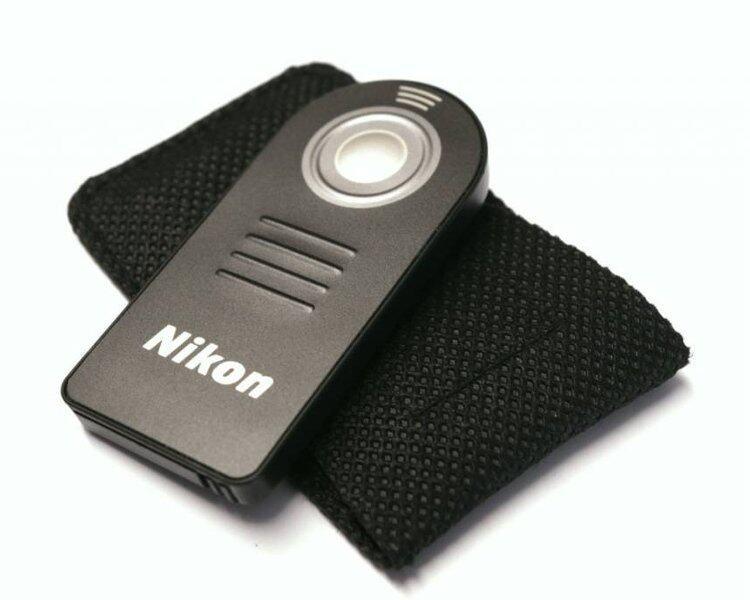 Wireless Infrared Remote รีโมทไร้สาย เทียบเท่า Nikon ML-L3 (Black)
