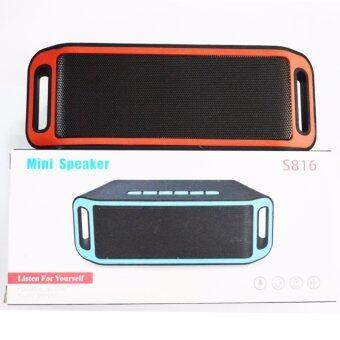ประเทศไทย Wireless Speaker Super Bass Bluetooth ลำโพงบลูทูธ ไร้สาย รุ่น S816