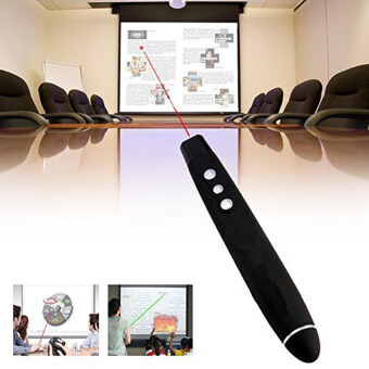 Wireless USB PPT Presenter PowerPoint Remote Control Presentation Pointer - Intl