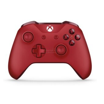 XBOX ONE WIRELESS CONTROLLER WITH 3.5MM JACK  BLUETOOTH RED - intl