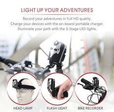 Xcsource กล้องติดจักรยาน 1080p Bike Video Recorder 5mp + 6000k Dual Led Headlamp ราคา 578 บาท(-77%)