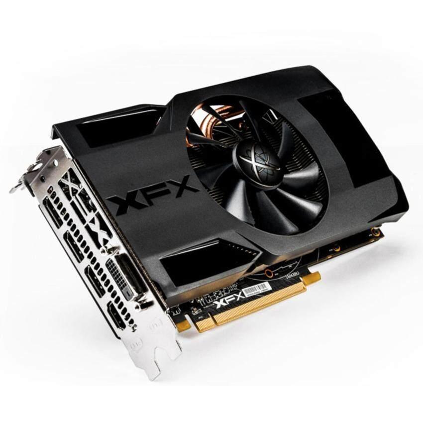 ห้ามพลาด XFX การ์ดจอ รุ่น RX 470 Single Fan Triple X (4GB DDR5) แบบ OEMรับประกัน 3 ปี แนะนำเลย