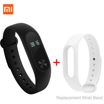 """Xiaomi 0.42"""" OLED Touch Screen Mi Band 2 Smart Bracelet/Replace Band - Intl"""