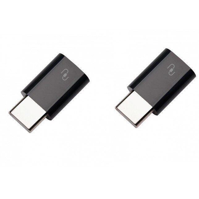 Xiaomi USB Type-C adapter 2 ชิ้น (Black)