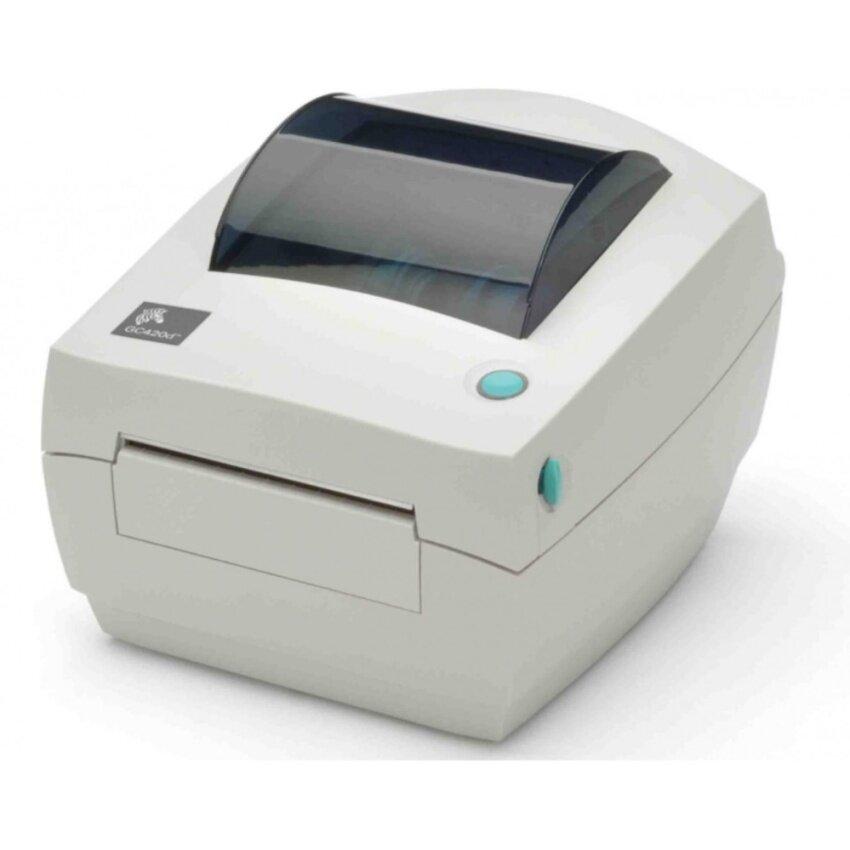 Zebra GC420t เครื่องพิมพ์บาร์โค้ดแบบตั้งโต๊ะ