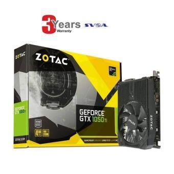 ZOTAC GeForce GTX 1050 Ti ZT-P10510A-10L 4GB GDDR5 PCI Express Graphics Card -3 YEARS (BY SVOA)