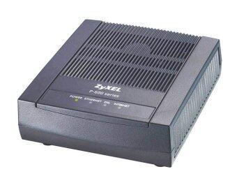 ZYXEL ADSL2+Ethernet/USB Routher P-660RU-Tx - Black