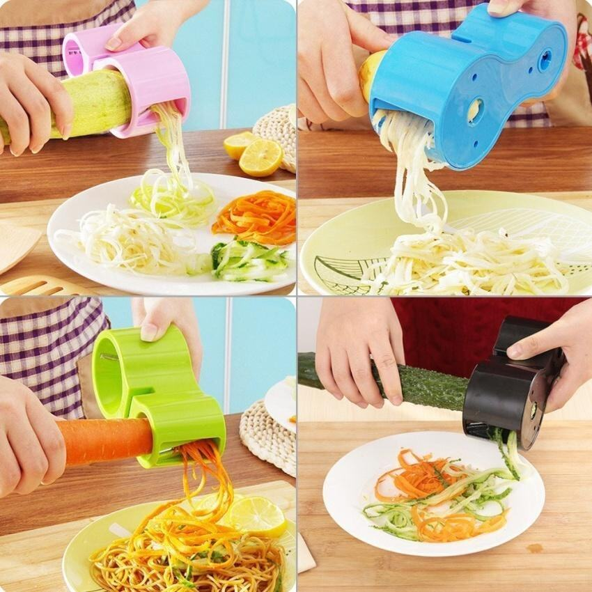 2016 Premium Vegetable Spiralizer Vegetable Noodle Cutter Zucchininoodle Pasta Spaghetti ...