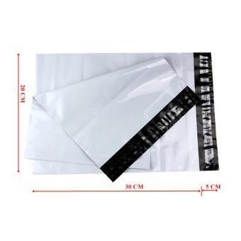 ซองไปรษณีย์พลาสติกสีขาว ขนาด 20x30 cm (1000 ใบ)