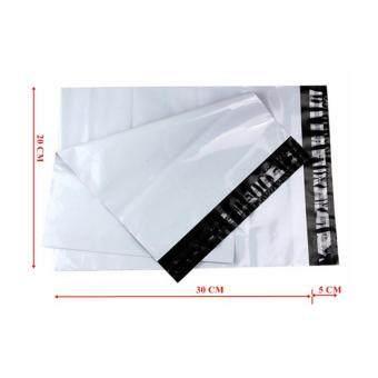ซองไปรษณีย์พลาสติกสีขาว ขนาด 20x30 cm (250 ใบ)