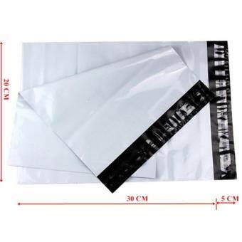 ซองไปรษณีย์พลาสติกสีขาว ขนาด 20x30 cm (50 ใบ)