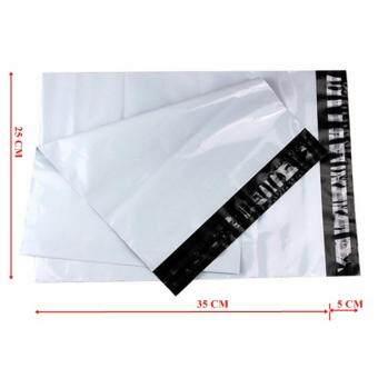 ซองไปรษณีย์พลาสติกสีขาว ขนาด 25x35 cm (250 ใบ)