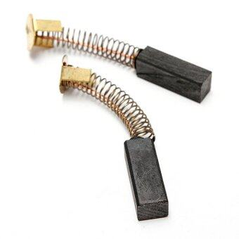 2PCS 19mm x 7mm x 6mm Electric Motor Carbon Brushes Power Tool Replacement