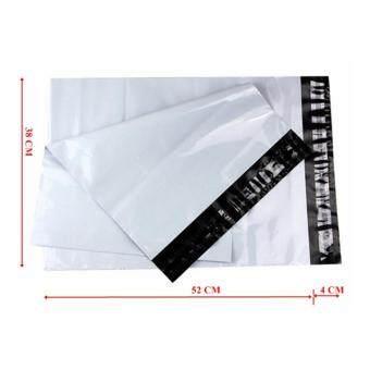 ซองไปรษณีย์พลาสติกสีขาว ขนาด 38x52 cm (50 ใบ)