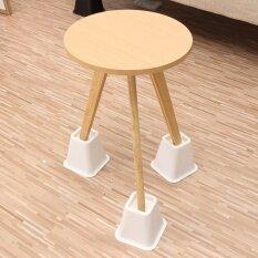 4pcs Furniture Riser Adjustable Bed Risers Chairs Lifts Sleek Design White - Intl ราคา 889 บาท(-50%)