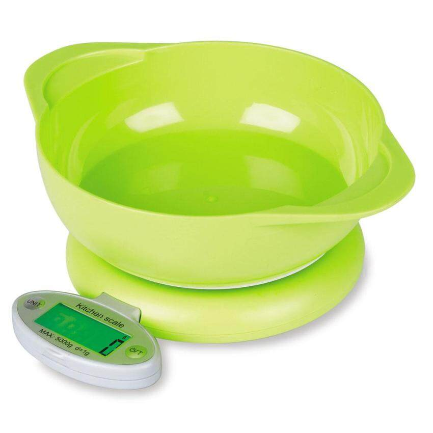 5KG/1g LCD Digital Kitchen Scale Electronic Weight Tool with 1 Container (Intl) ...