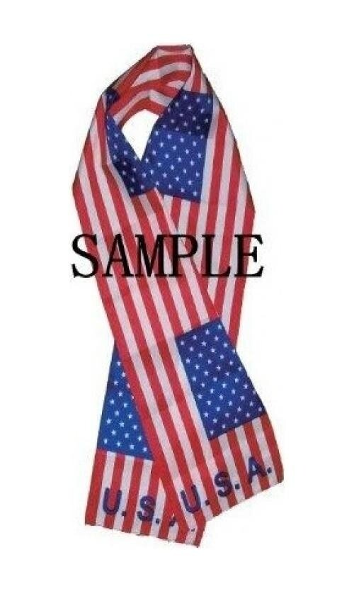 Brand New Comfortable U.S. 101st Air Borne National Flag Scarf / Scarves Size: 22cm X 150cm - intl image
