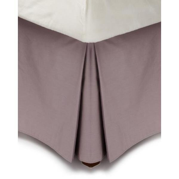Calvin Klein Home Jardin Double Row Cord Bedskirt, California King, Violet - intl