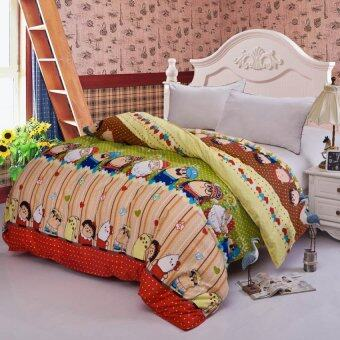 Cartoon 100%Cotton Quilt Cover-Single/Full/Queen/King size-45# Cartoon Man - intl