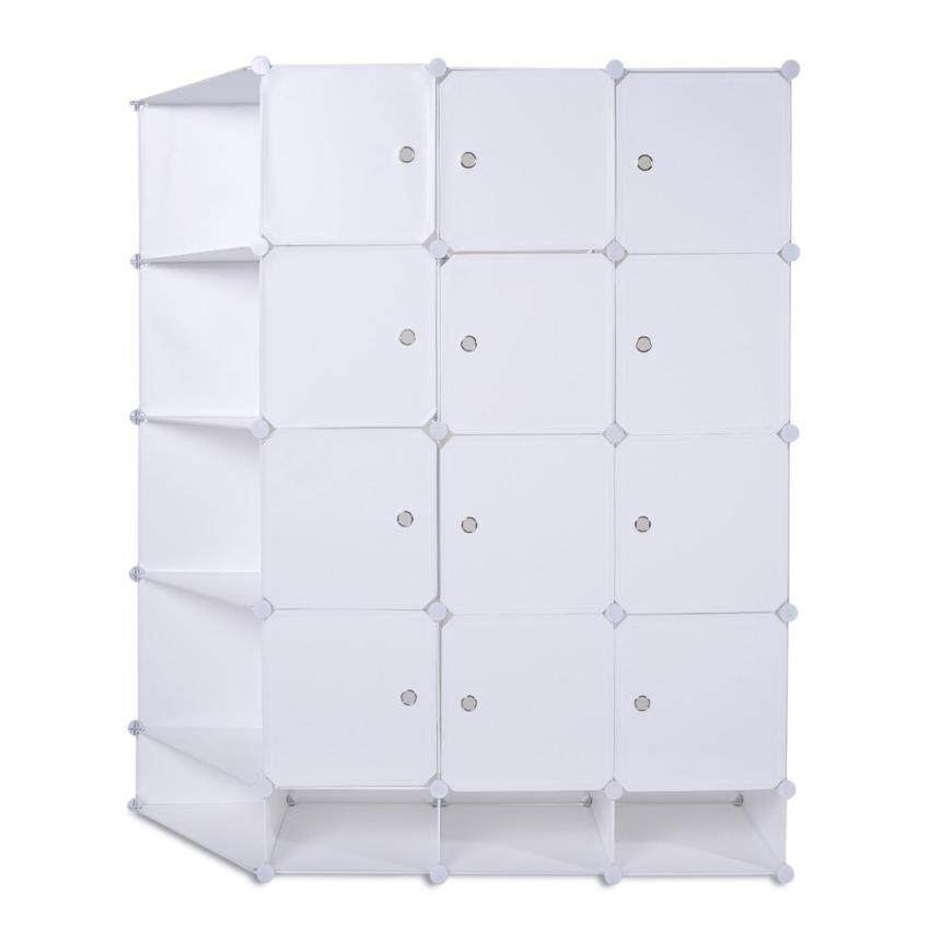 Clothes Shoes Closet Organizer Storage Rack Wardrobe Portable Home Garment Hanger Shoe - ...