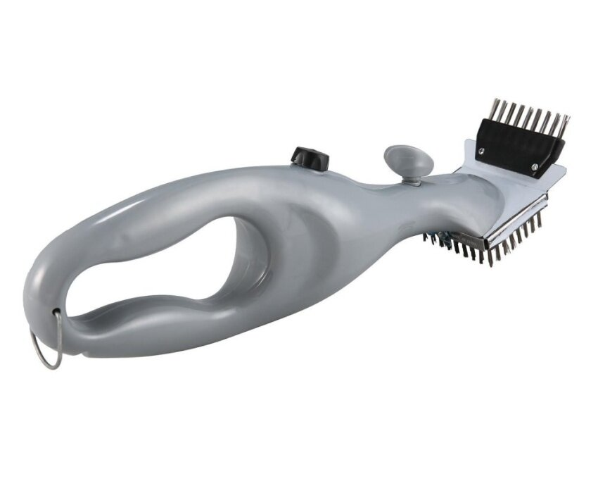 coobonf Stainless Steel Grill Steam Cleaning Tool BBQ Brush Cleaner Barbecue Tool - intl