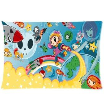 "Custom Tokidoki Rectangle Pillowcase Covers Standard Size 20""x30""(One Side)"