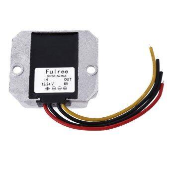 DC/DC Power Converter Regulator Module Step Down Adapter 12V/24V to 6V 5A
