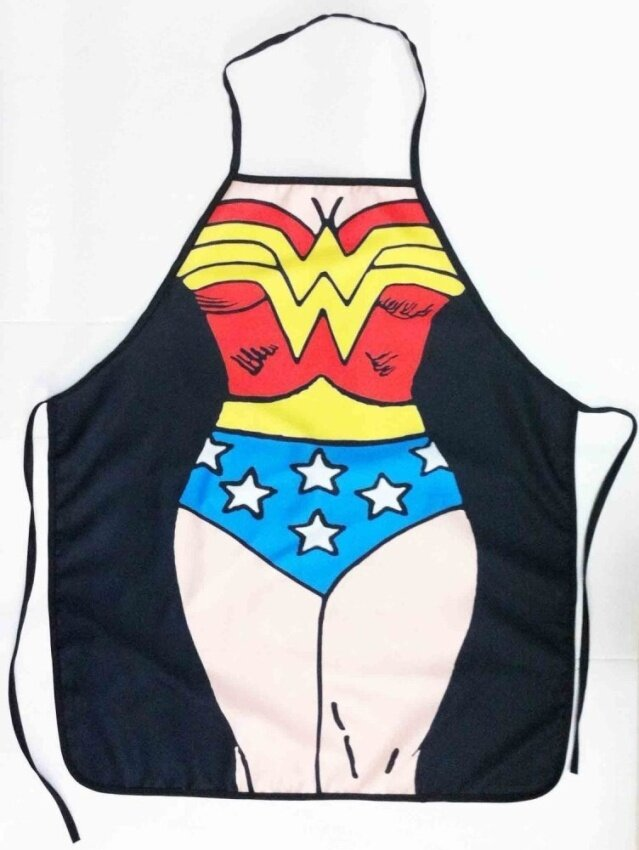 Dop Bo Wonder Woman Sexy Kitchen a pron Funny Creative Cooking a pron - intl