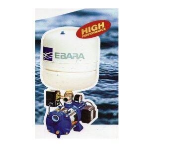 EBARA ปั๊มน้ำ รุ่น COMPACT AM8/PT 600W