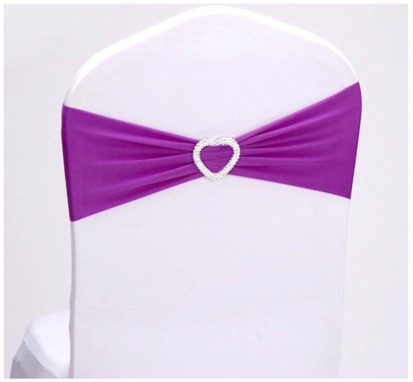 Elastic Free Tie Chair Cover Case Wedding Banquet Decoration ...