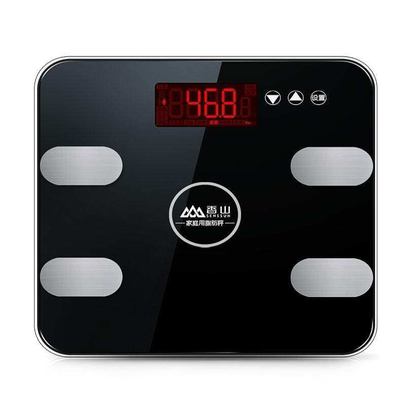 Fragrance Hill body fat scale smart accurate household fat weighing weighing weighing scales into the human body weighing electronic health - intl