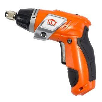 GetZhop สว่านไฟฟ้า สว่านไร้สาย เครื่องมือช่าง รุ่น HW-SD01(Orange)