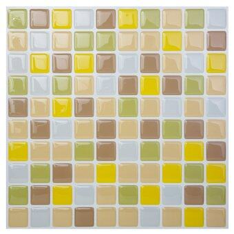 Hanhwa L&C Bodaq D.I.Y Tile Sheet SQW06 Square Style Pack of 10 (Freesia Yellow) - Intl