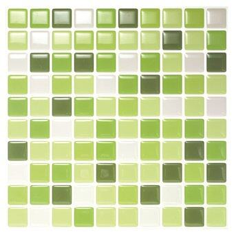 Hanhwa L&C Bodaq D.I.Y Tile Sheet SQW08 Square Style Pack of 5 (Lime Green) - Intl