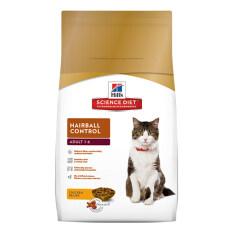 Hill's Science Diet Hairball Control อาหารแมว ช่วยลดก้อนขน  ขนาด 2kg
