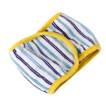 Male Dog Striped Diaper (Random Color)