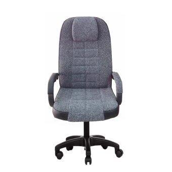 SOHO เก้าอี้ผู้จัดการผ้าฝ้าย หัวเบาะ รุ่น PR-156 ผ้าฝ้าย - สีเทา
