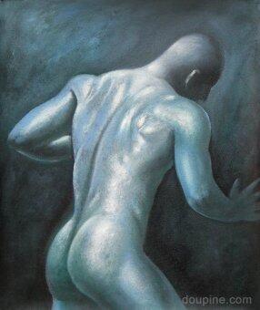 Adaygallery ภาพวาดสีน้ำมัน รูปStrong 50x60