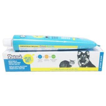 Petme Plus Gel อาหารเสริมสัตว์เลี้ยงชนิดเจล ทดแทนสารอาหารและพลังงานในสัตว์ป่วย